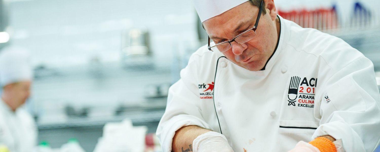 Chef Billy Edmondson competing
