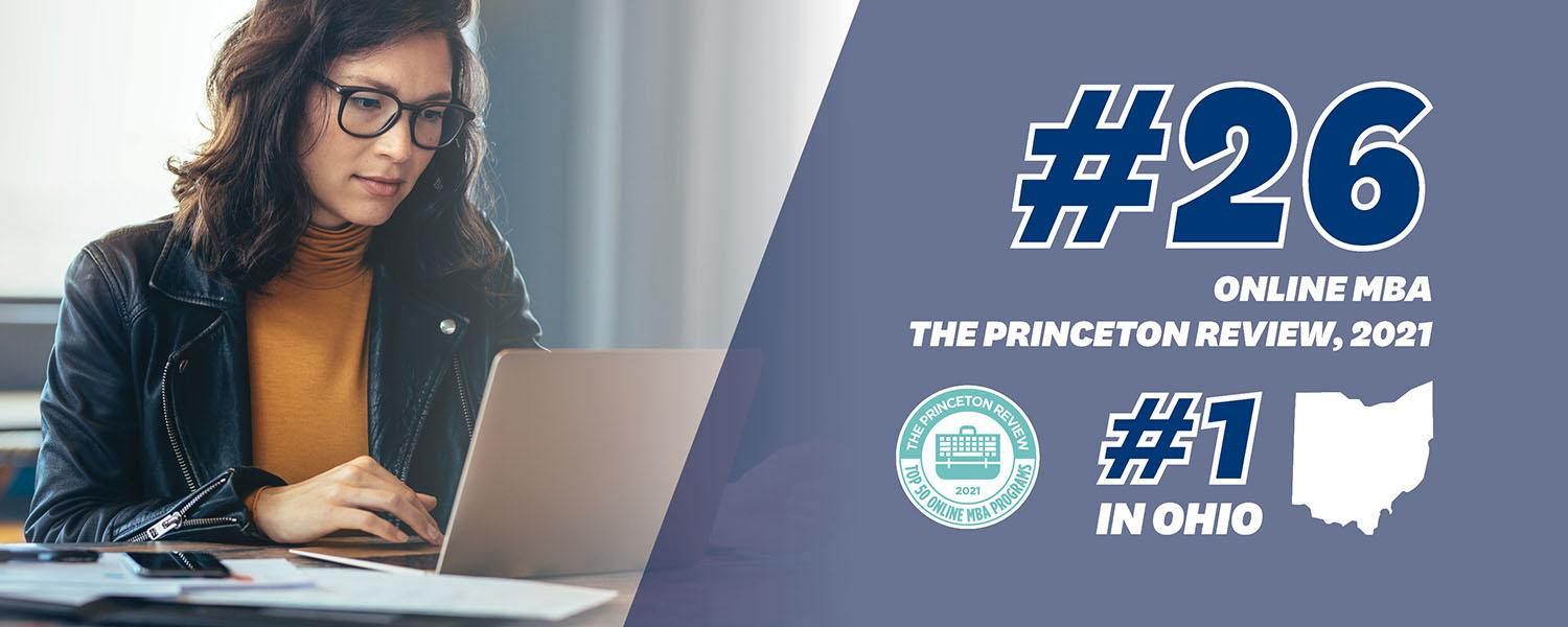 Online MBA Ranked #26 by The Princeton Review