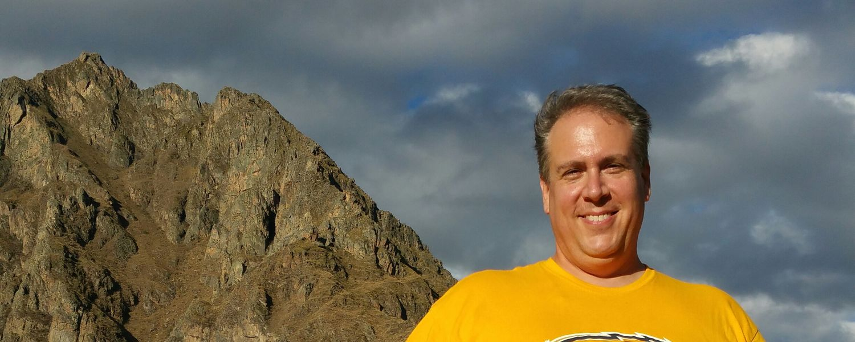 Alumnus Paul Bassett, '11, climbed Machu Picchu in Peru to bring awareness to myeloma.