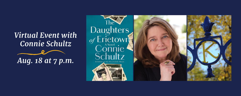 Connie Schultz Virtual Event - Aug 18 at 7 p.m.