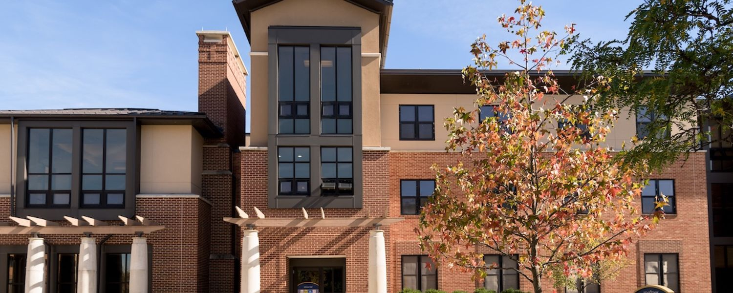 Johnson Hall, part of the Honors College Living-Learning Community