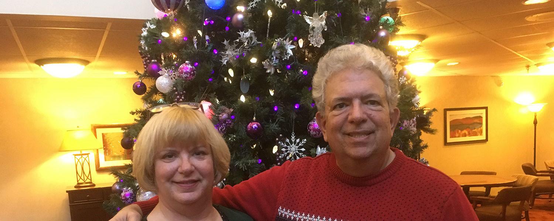 Anthony Sebbio and his wife, Sharon.