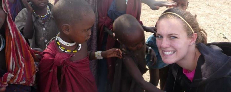 As a nursing student, Jennifer had the opportunity to travel to Kilimanjaro, Tanzania.