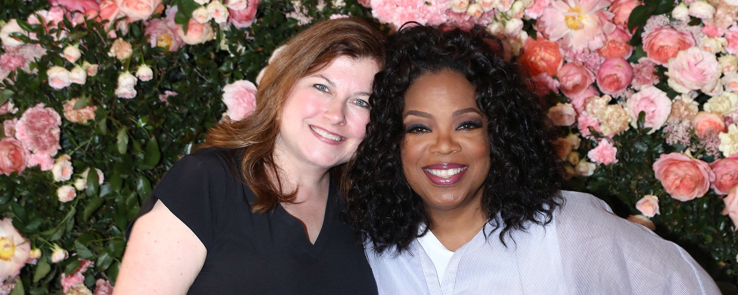 Jennifer Miller, lecturer in Kent State's School of Lifespan Development and Educational Sciences, was given the opportunity to meet Oprah Winfrey and attend a WW (formerly Weight Watchers) retreat in California. (Photo: Matt Sayles Photography)