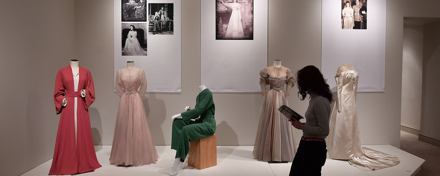 """The exhibition """"Katharine Hepburn: Dressed for Stage and Screen"""" is currently on display at the Kent State University Museum."""