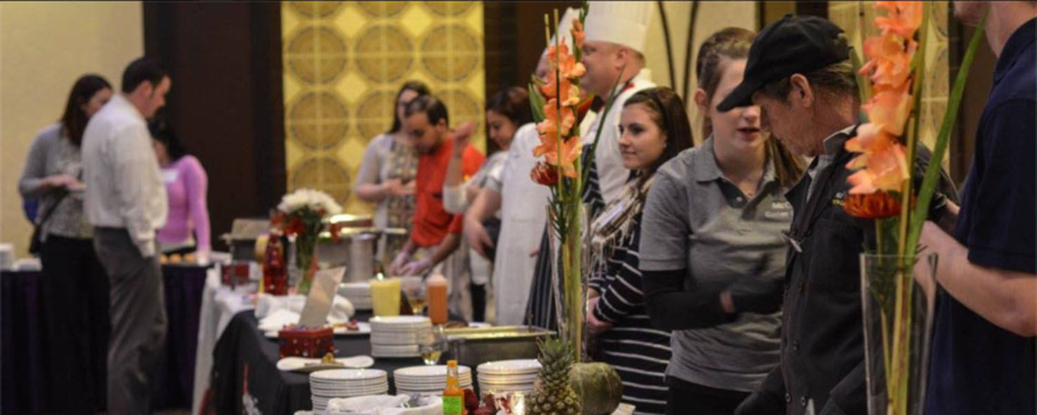 Pictured are participants at the annual Nutritious and Delicious Gala. Kent State University Dining Services received three outstanding awards at the event for its gluten-free dish.