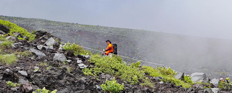Paul Bassett, BSN '11, climbs Mt. Fuji for Myeloma Awareness