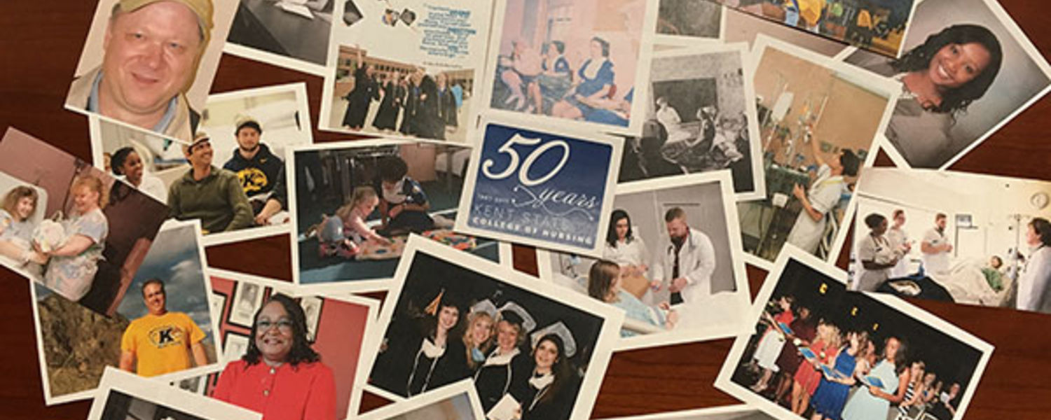 Join our 50th anniversary celebration! Share your favorite memory or photo of Kent State College of Nursing.