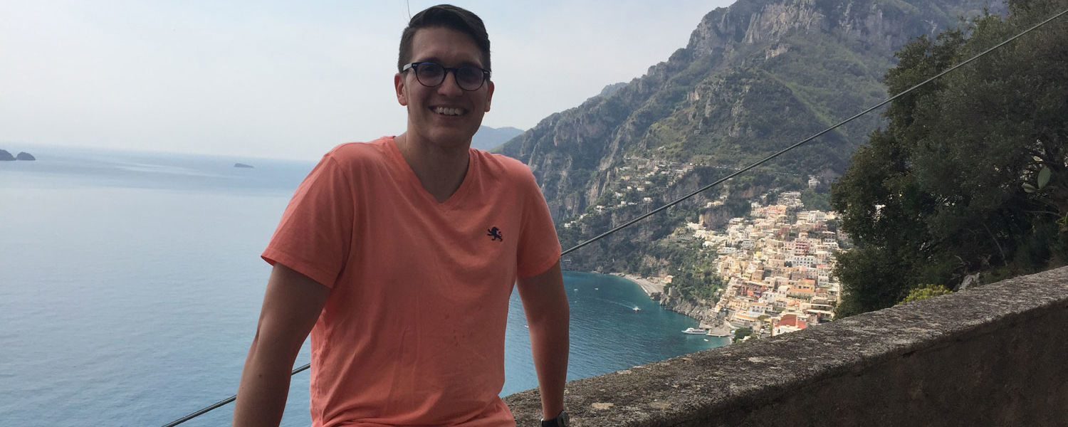 Kent State University at Salem English Lecturer James Winter participated in the prestigious Sirenland Writers Conference in Italy.