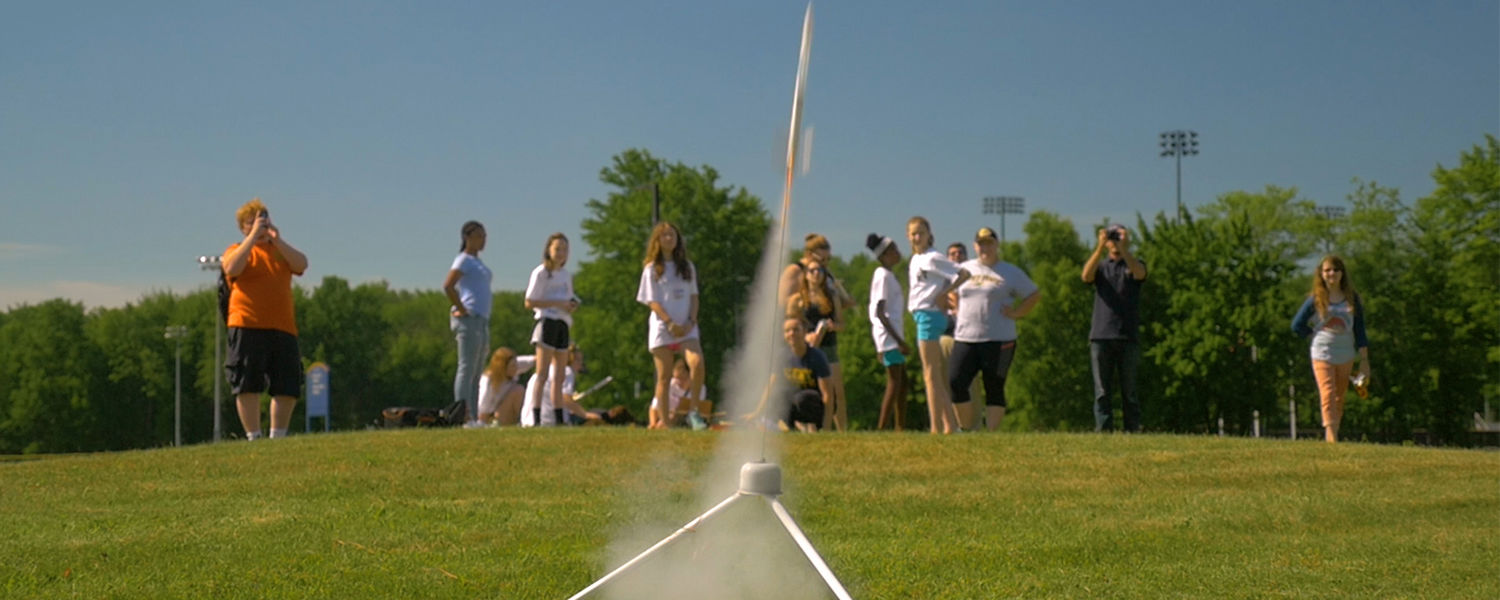 Pictured are participants at the Girls Geared for Engineering Camp at Kent State.