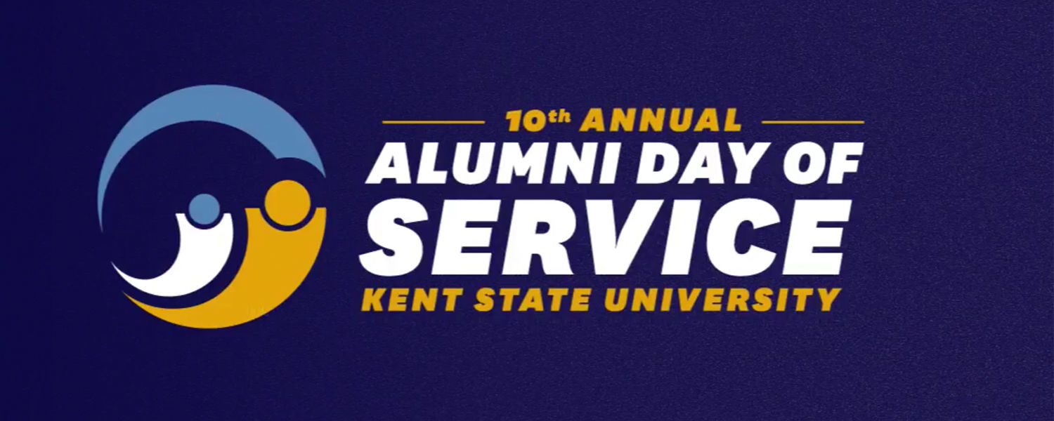 Kent State University's 10th annual Alumni Day of Service will take place at multiple locations on April 21.