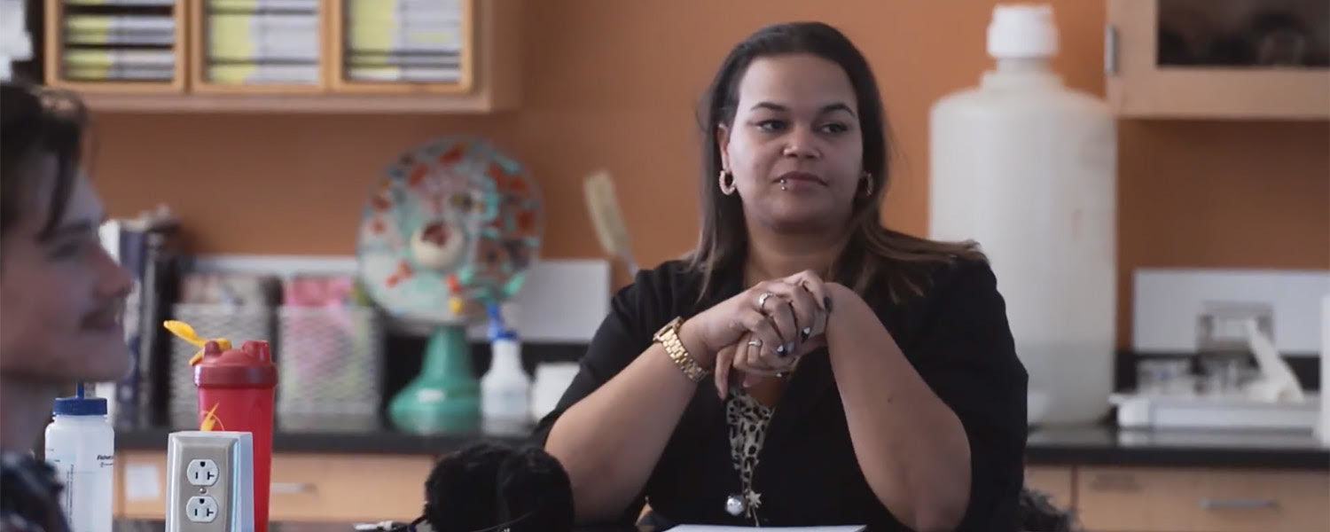 Kent State University at Stark student Heather Greier discovered an unexpected way to fulfill her purpose of helping animals.