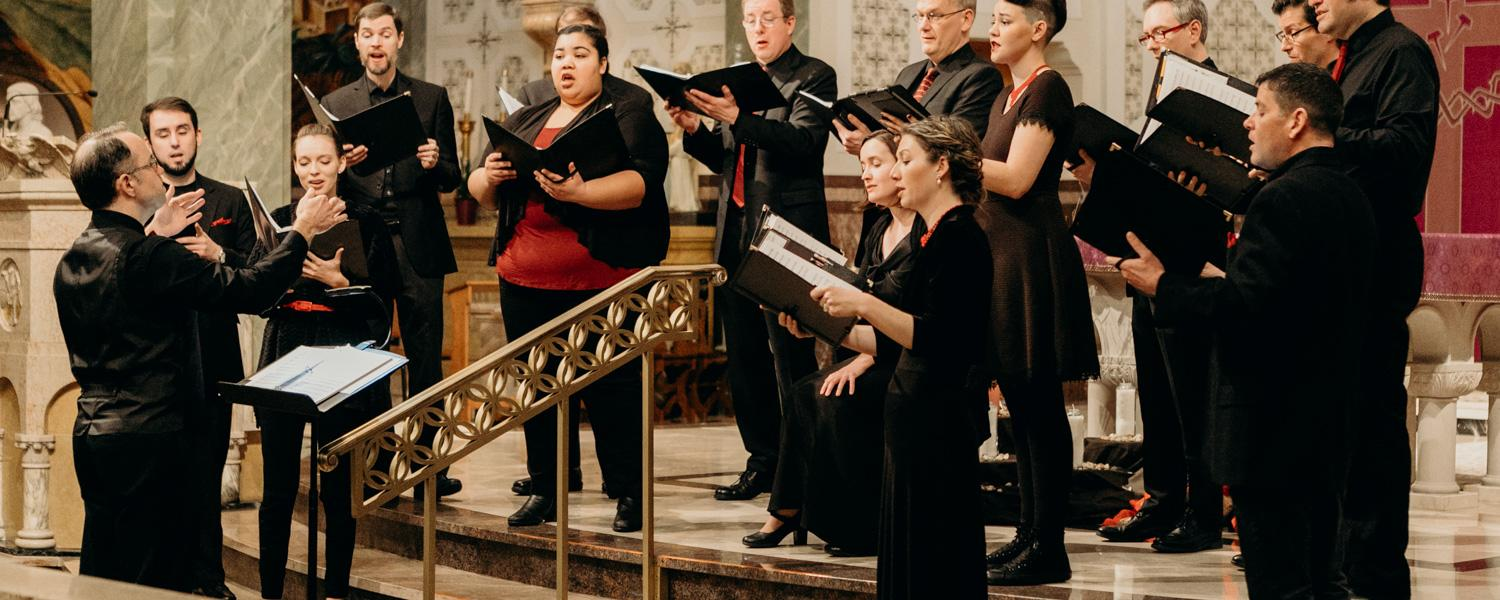 Quire Cleveland in Performance