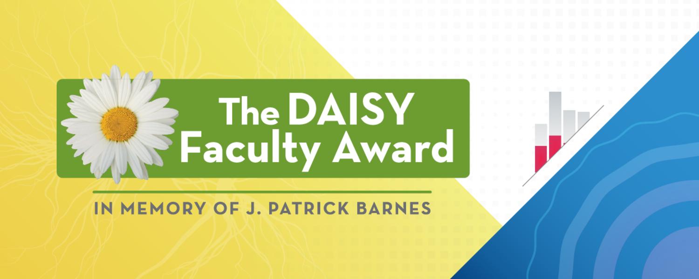 The DAISY Faculty Award - logo and graphic