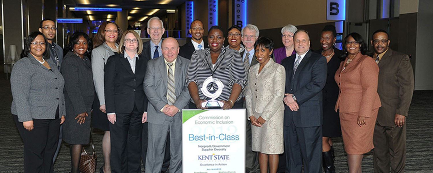 Kent State Receives Best in Class Honors for Supplier Diversity