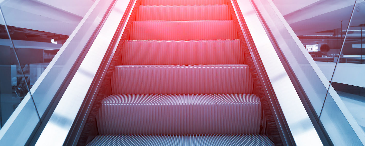 Adobe Stock Escalator