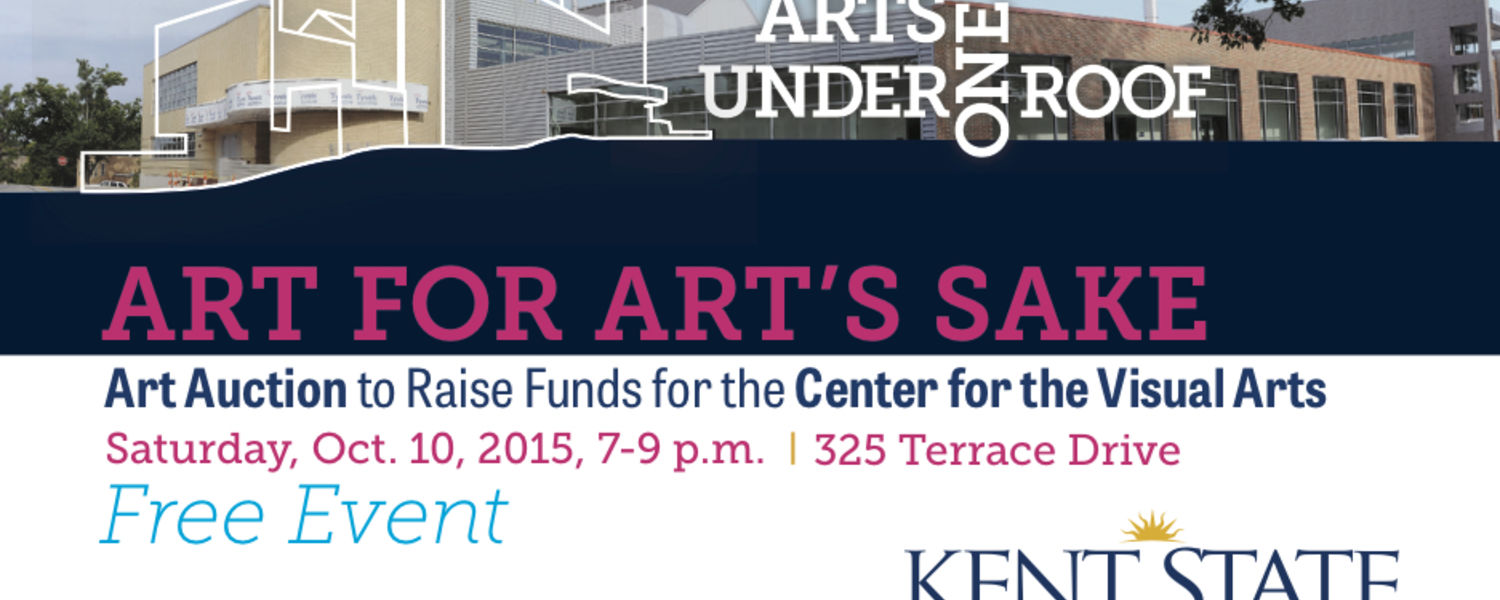 Art for Art's Sake: Art Auction to Raise Funds for the Center for the Visual Arts