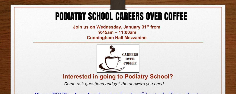 Careers over Coffee