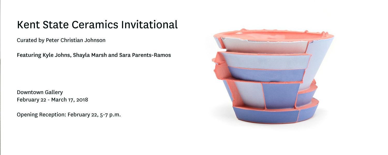 Kent State National Ceramics Invitational