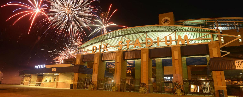 Dix Stadium Fireworks