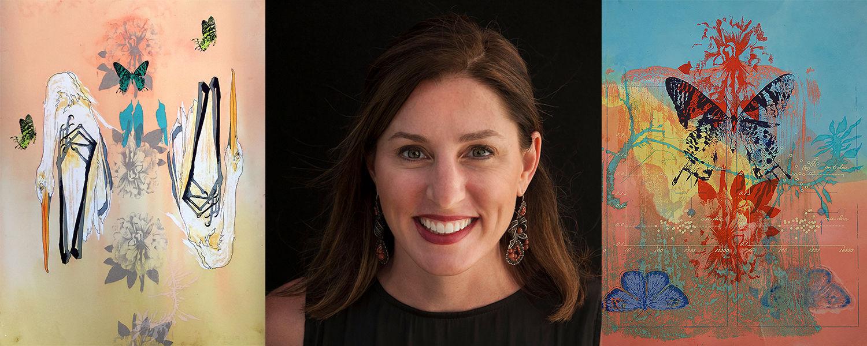 Emily Arthur - visiting artist in print media