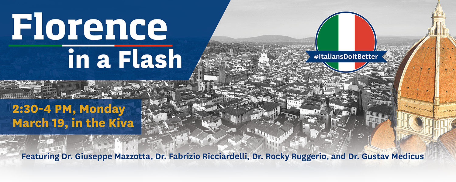 Florence in a Flash, MArch 19