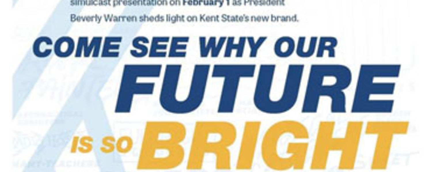 Kent State unveils new brand