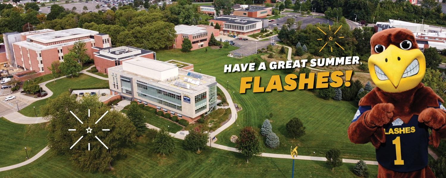 Have a great summer, Flashes!