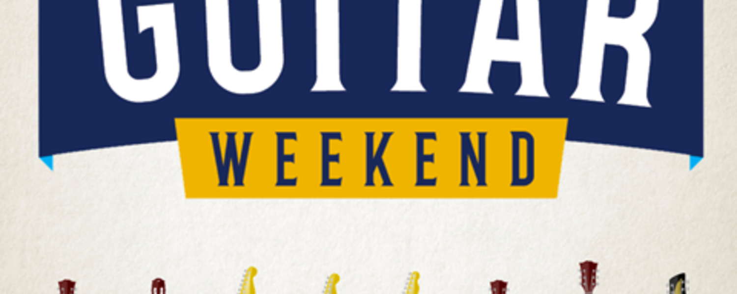 Guitar Weekend September 30 - October 2