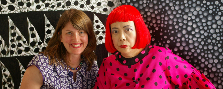 Heather Lenz and Yayoi Kusama, copyright Tokyo Lee Productions