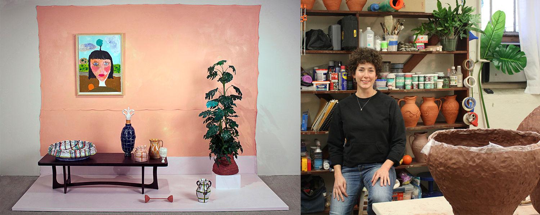 Joanna Powell, visiting artist in ceramics for Kent Blossom Art Intensives