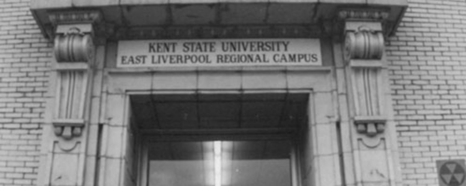 Kent State University at East Liverpool circa 1965