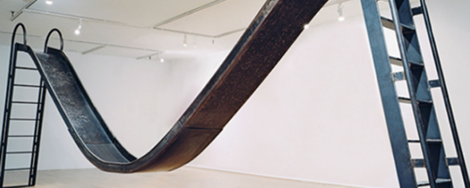Karyn Olivier, Double Slide sculpture