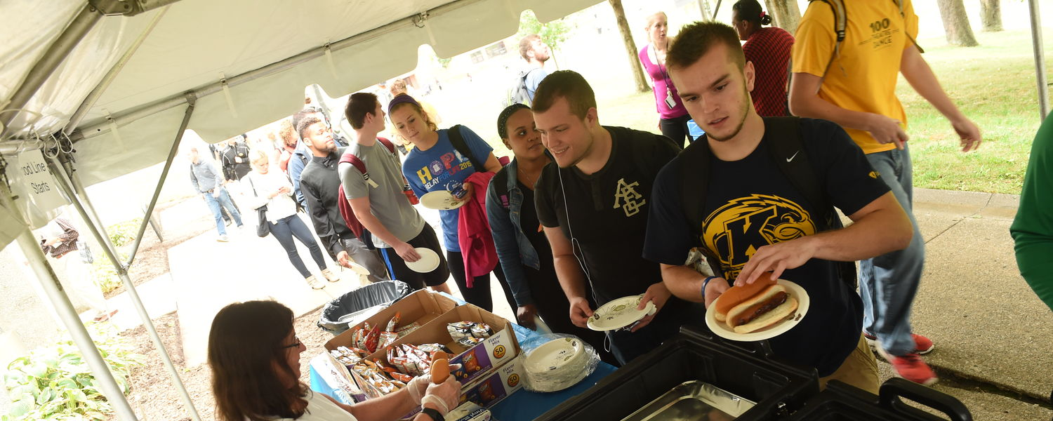 Each fall, the School of Communication Studies hosted a picnic to welcome students back to campus.