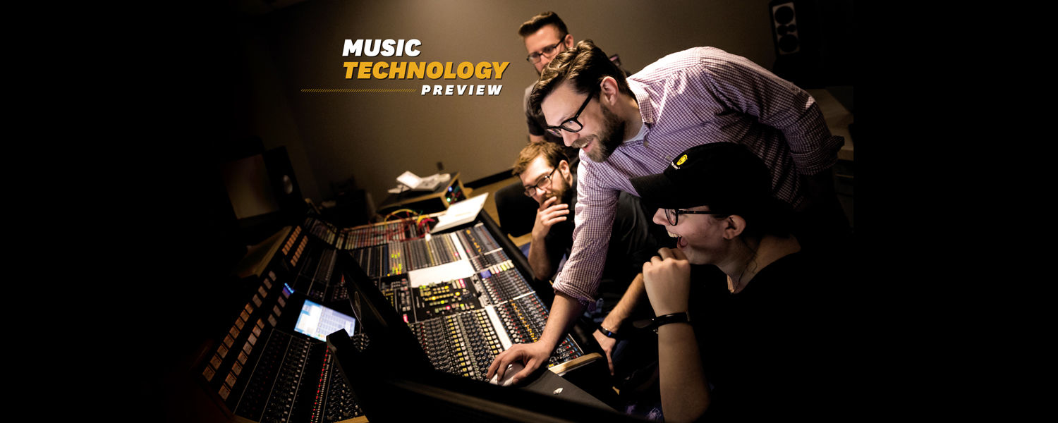 Music Technology Preview on Nov. 15