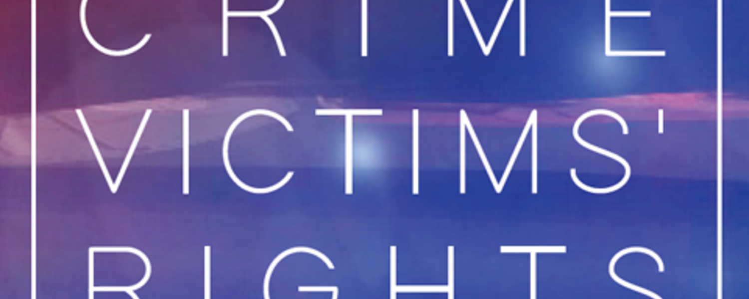 National Crime Victims Week Activities