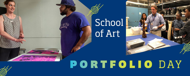School of Art Portfolio Day