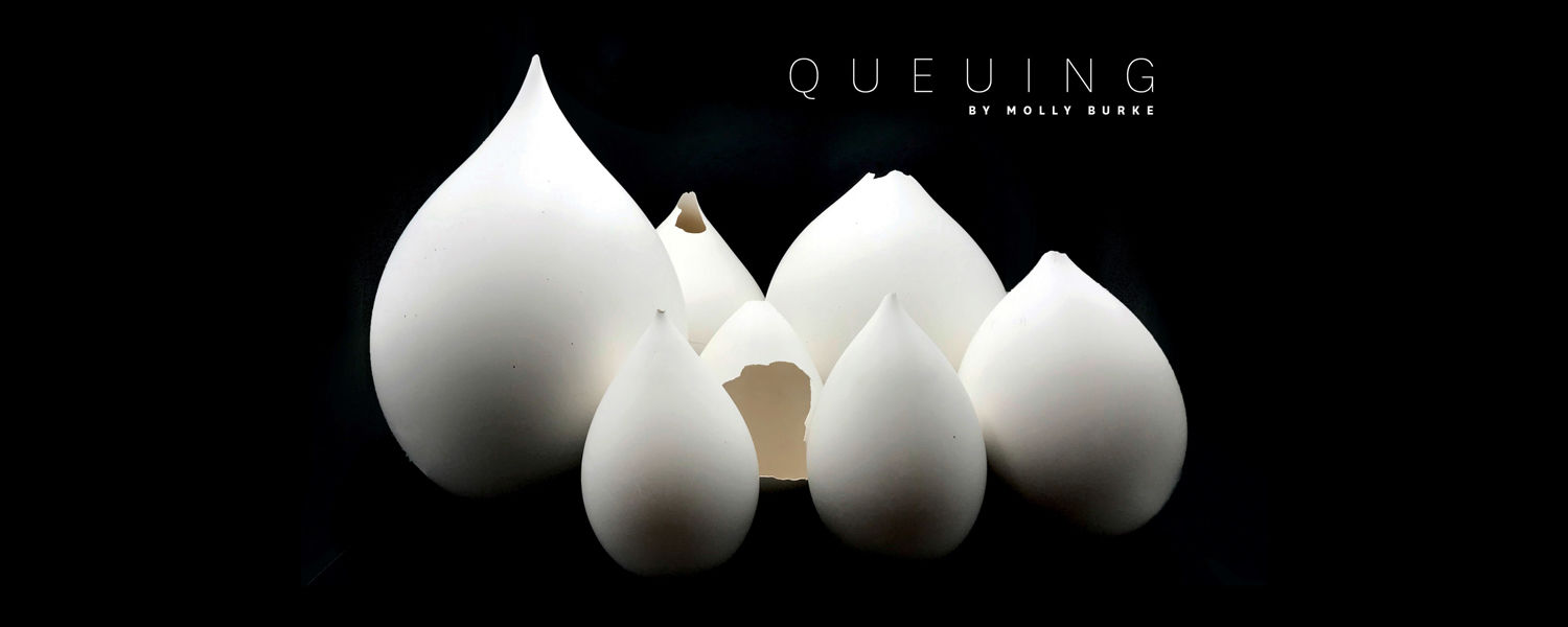 Queuing by Molly Burke