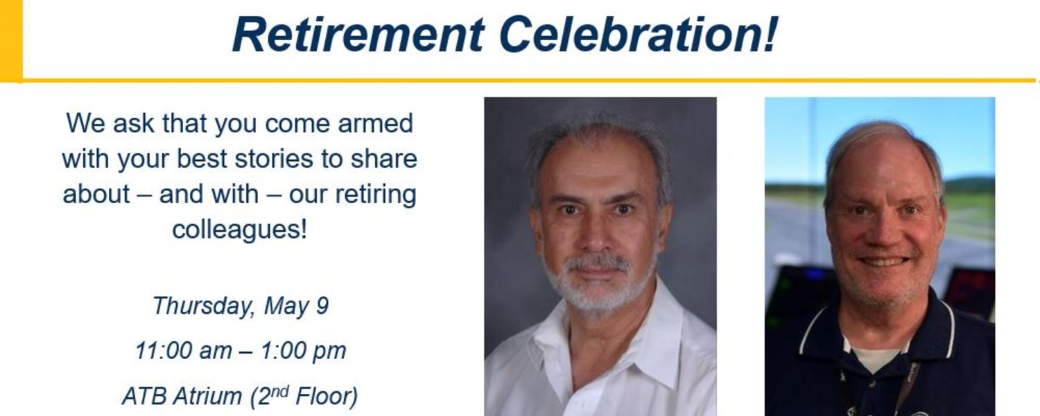 Retirement celebration