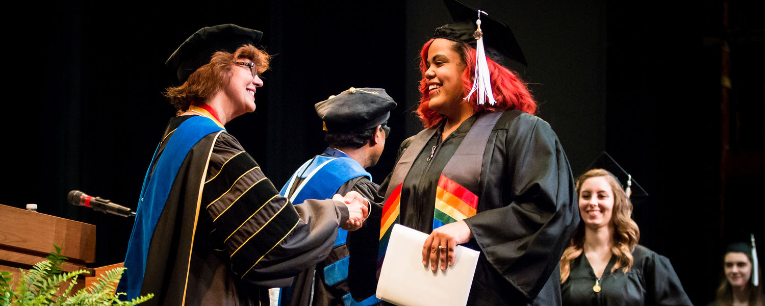 Spring 2018 Commencement on Sunday, May 13