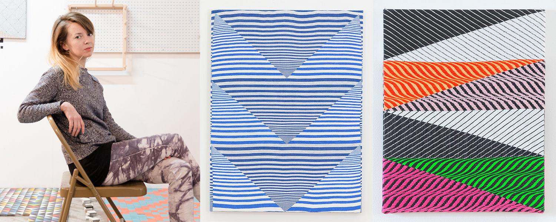 Samantha Bittman, visiting artist for Kent Blossom Art Intensives, Textiles
