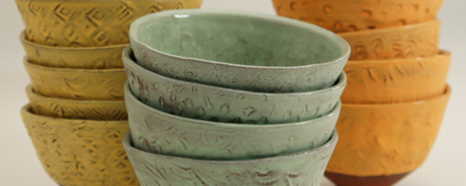Ceramic Bowls by Sunshine Cobb