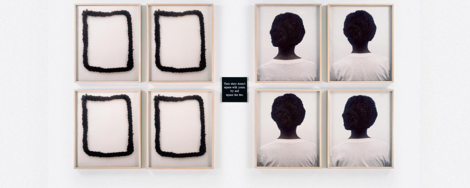 Square Deal by artist Lorna Simpson