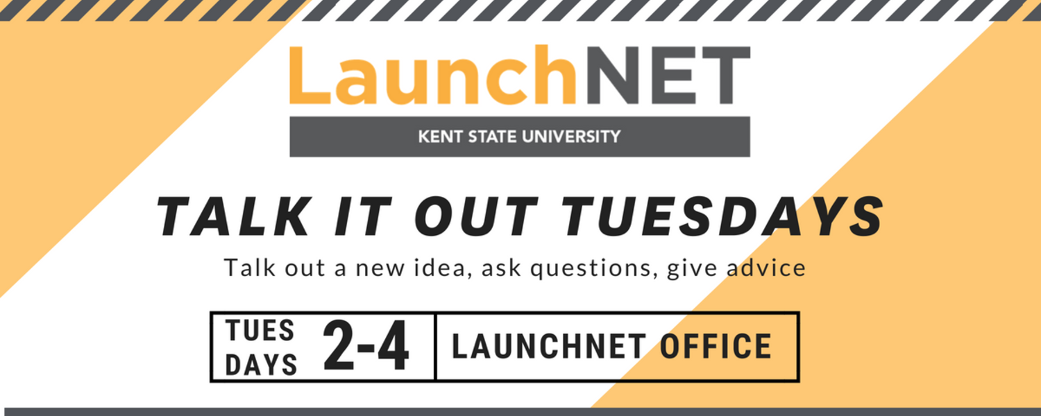 Talk it out Tuesdays in LaunchNET 2 to 4 pm