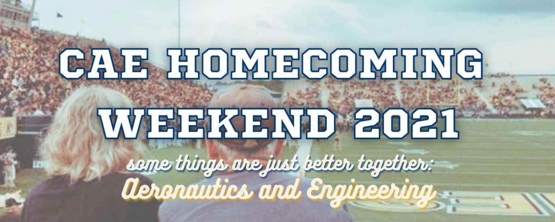 CAE Homecoming Banner
