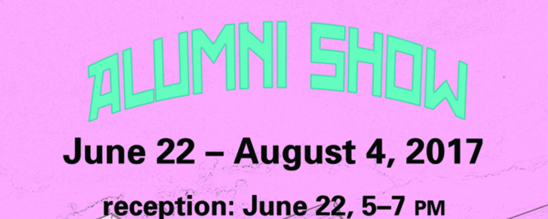Alumni Show 2017 poster