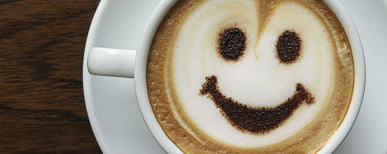 Photo of Coffee Mug with cream smile