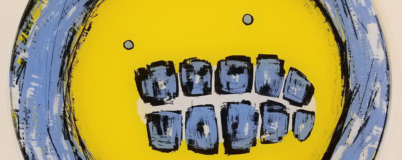m coy, anxiety man (yellow), 2017