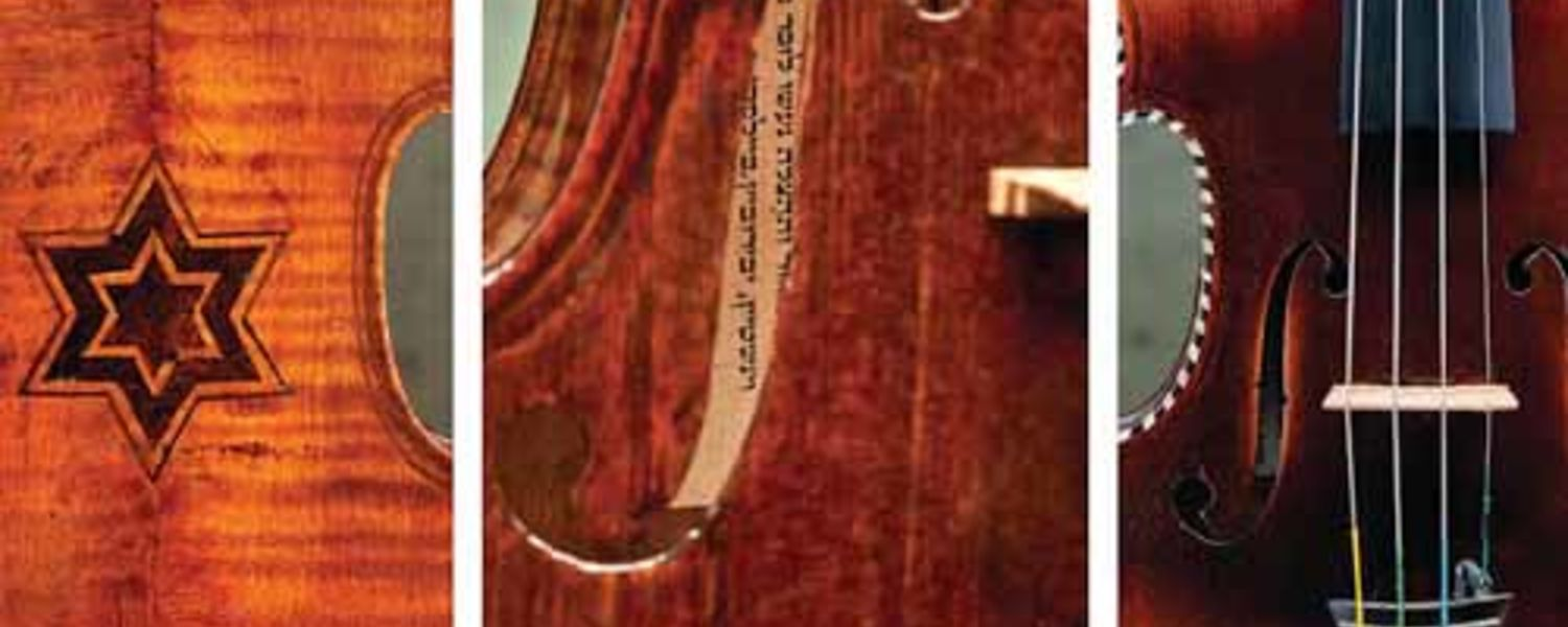 Violins played by Jewish musicians in the concentration camps