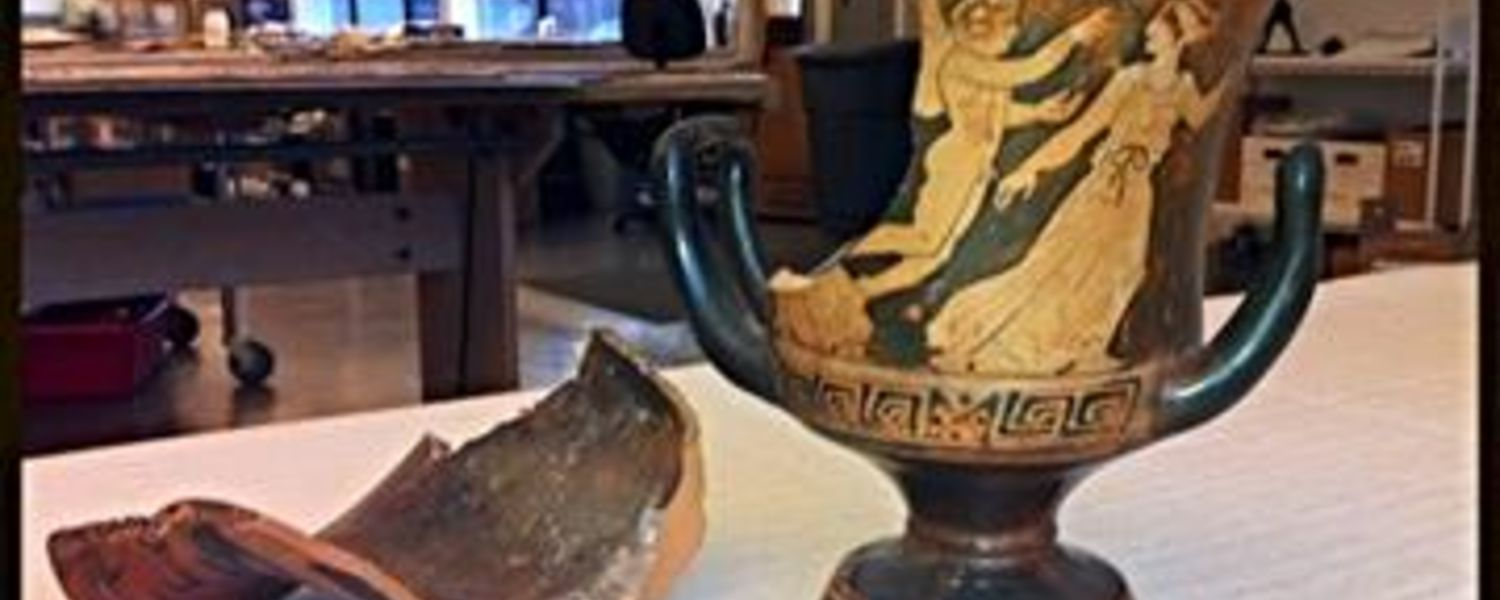 Photo of Broken Grecian Vase